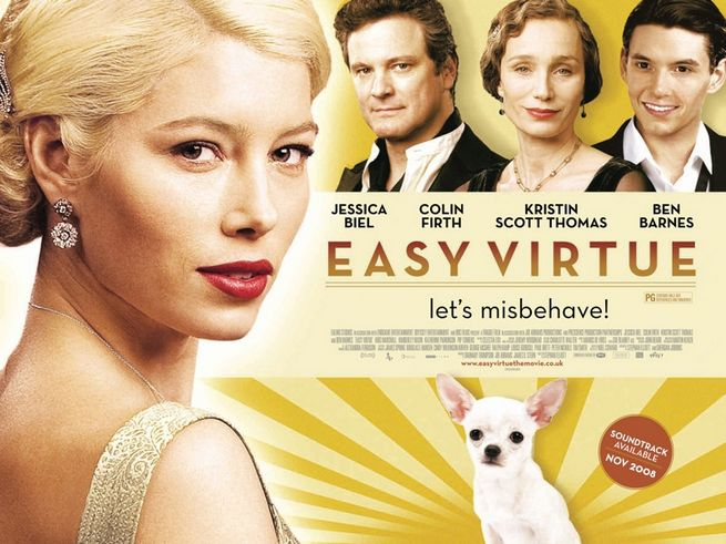Easy virtue jessica biel